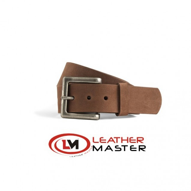 1 3/4 Inch Brown Leather Belt